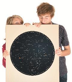 Strllas - Personalizowany plakat z mapą nieba