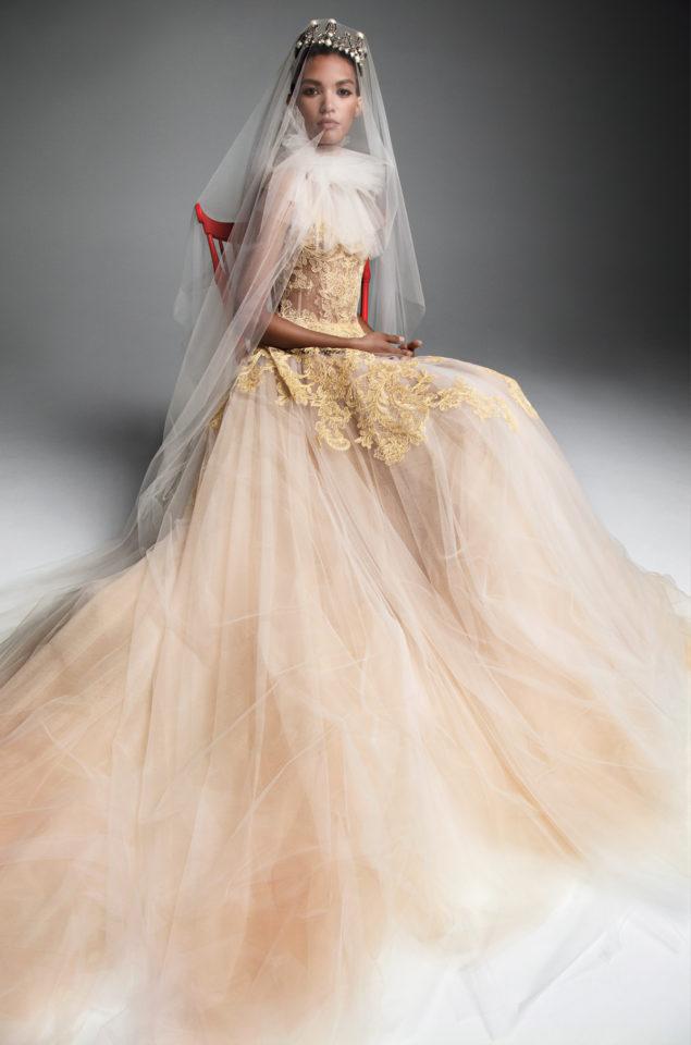 W Królewskim Stylu Vera Wang Kolekcja Jesień Zima 2019 ślub Z